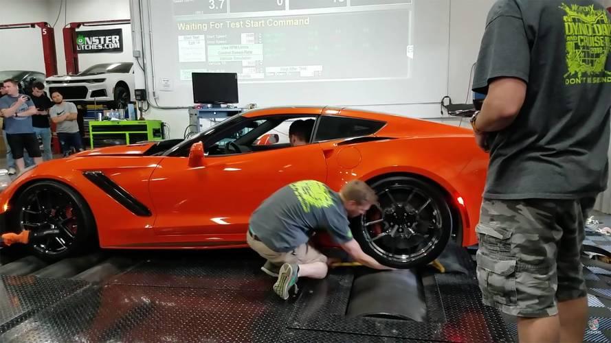 Chevy Corvette ZR1 Dyno testindeki kaza daha kötü sonuçlanabilirdi