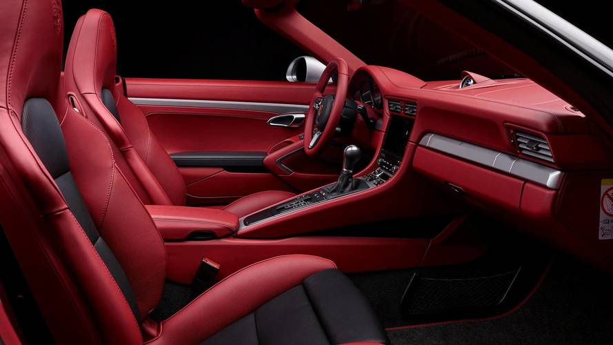 Porsche Exclusive Builds Custom 911 S Cabrio With Crimson Cabin