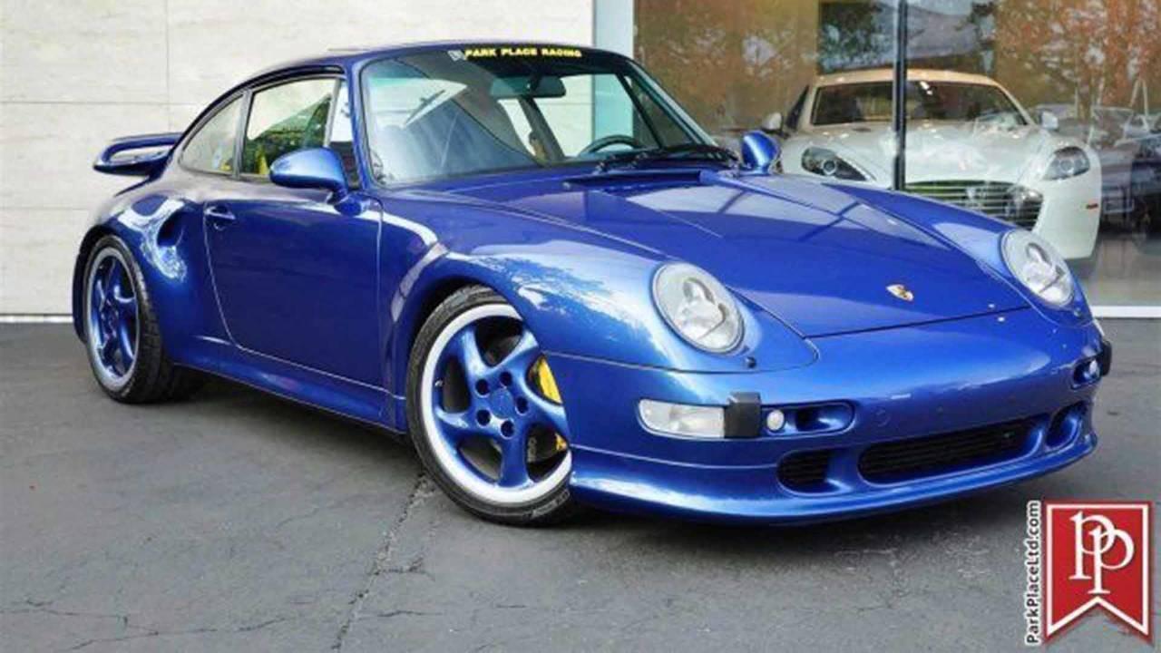 1997 Porsche 911 Turbo S for sale