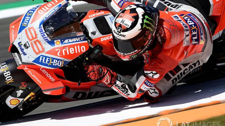 """Lorenzo: """"En el golpe con Rossi me asusté mucho"""""""