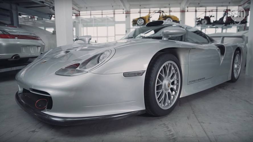 Porsche looks back at the 911 GT1 Evo