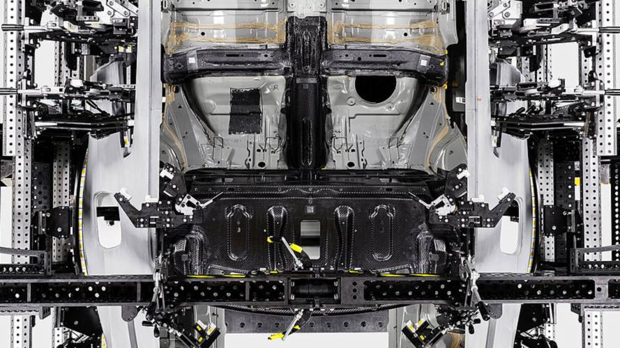 Polestar 1 carbon fiber construction