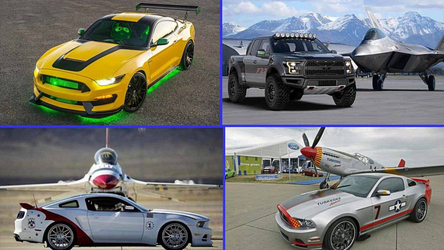 See All 11 Of Ford's Aircraft-Inspired Custom Charity Cars