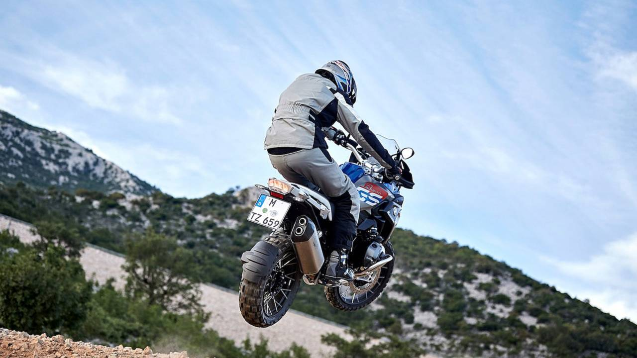 The R 1200 GS is wildly popular in Europe. Most people don't use them this way, however.