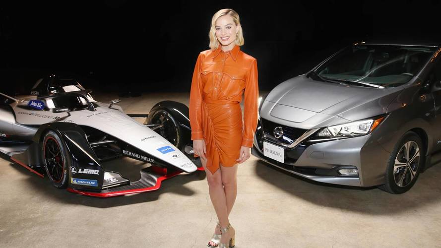 Nissan wraps up Formula E launch tour with Margot Robbie