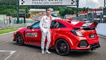 Honda Civic Type R 2018 en Spa-Francorchamps