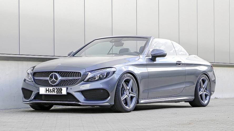 Höhenverstellbare H&R-Federsysteme für das Mercedes C-Klasse Cabriolet