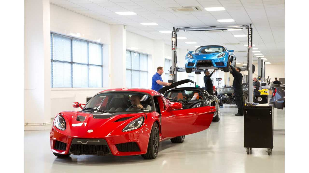 First Production Detroit SP:01 EV Rolls Off Assembly Line