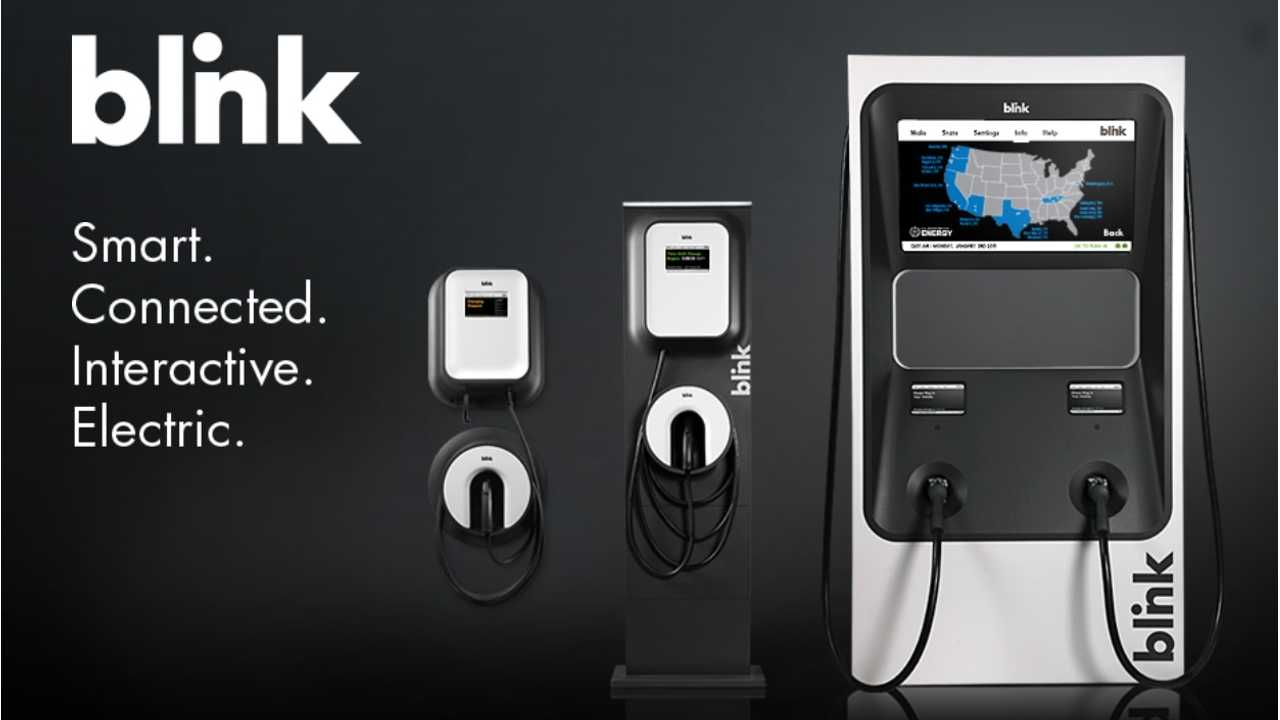 Ecotality Blink Charging Stations