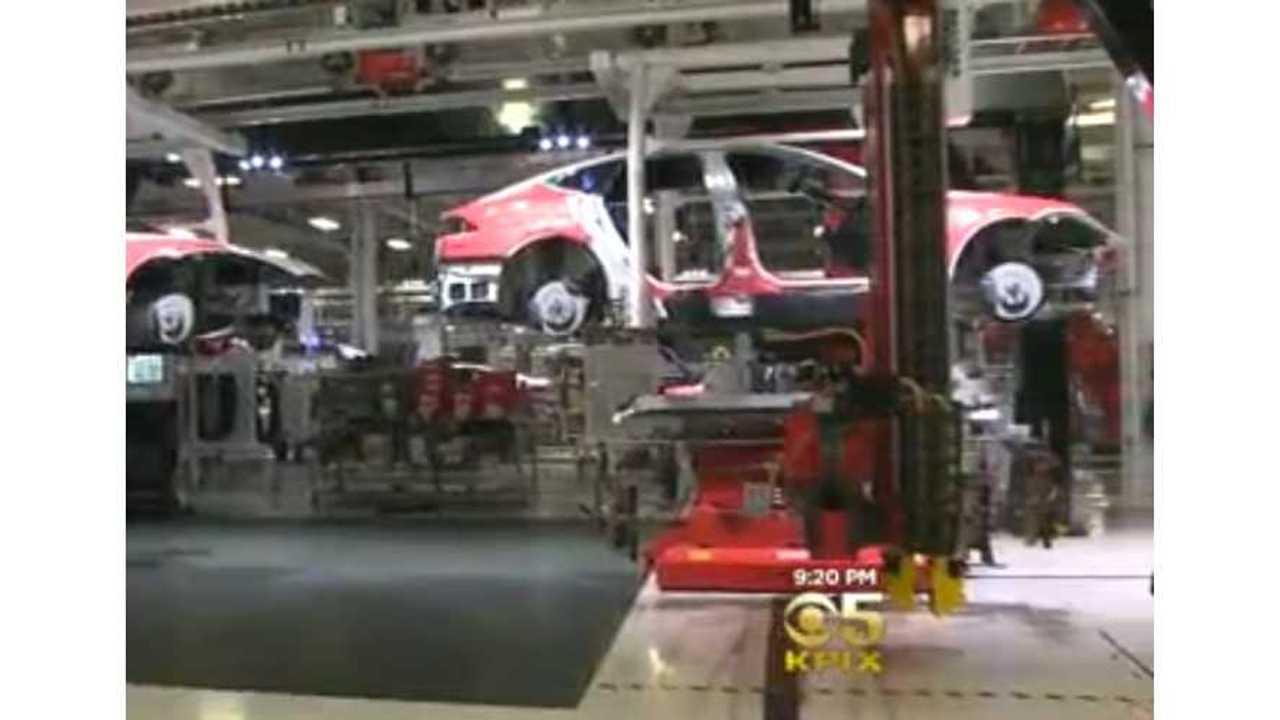 An Exclusive Look Inside Tesla's Fremont Factory - Video
