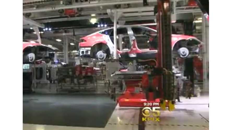 An Exclusive Look Inside Tesla's Fremont Factory - Video