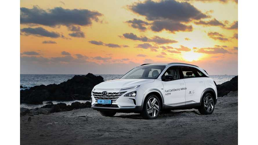 Hyundai's Hydrogen-Powered Nexo SUV Priced From Nearly $60K