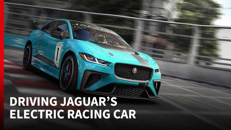 2018 Jaguar I-PACE e-TROPHY Tested: Watch Autosport Drive