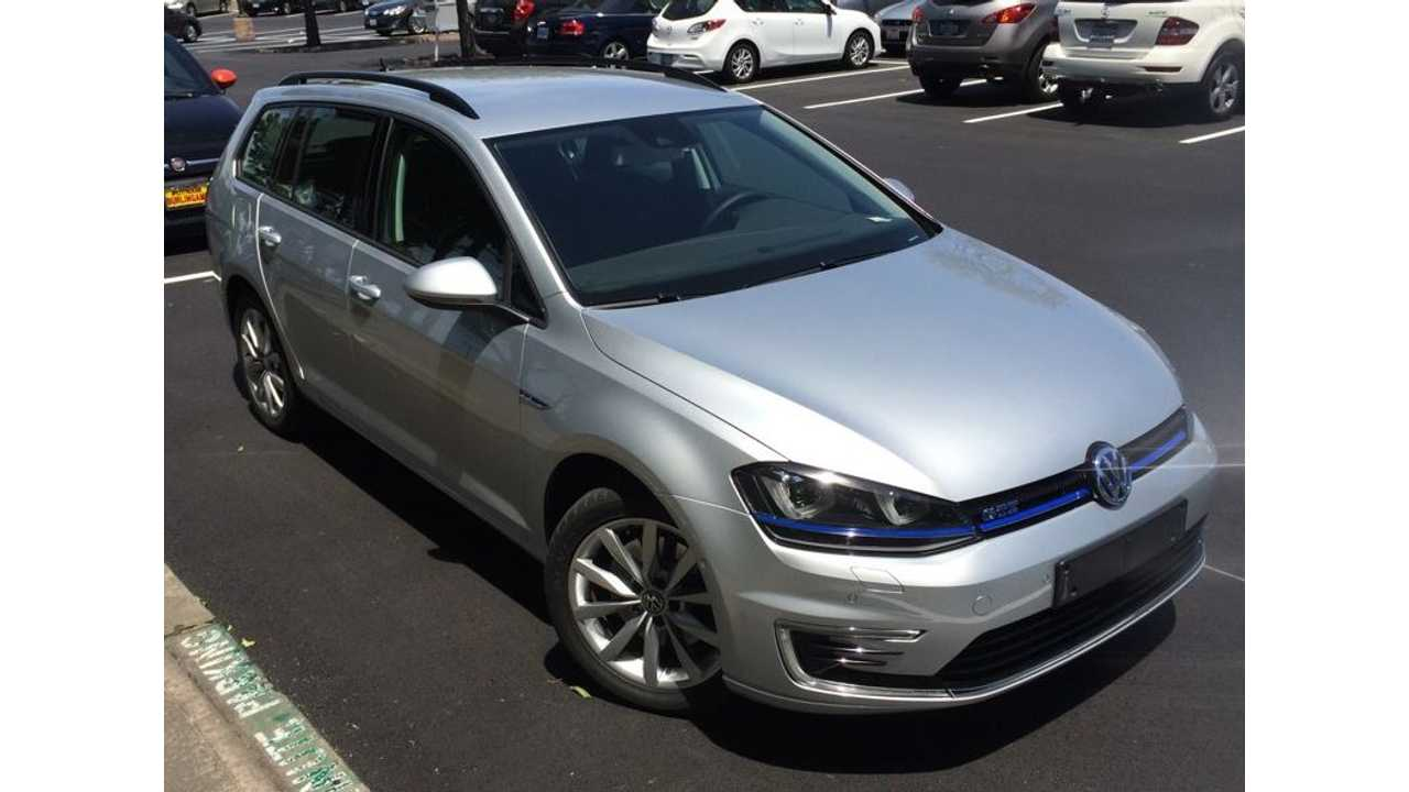 Volkswagen Golf GTE Plug-In Hybrid Station Wagon Spotted In California