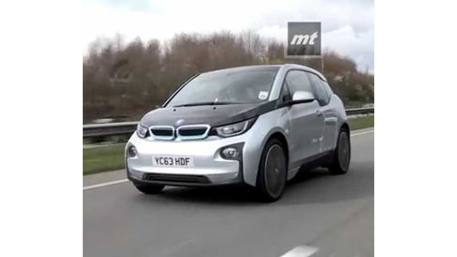 MotorTorque Tests BMW i3 REx - Video