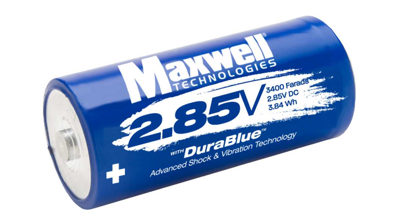 Maxwell 2.85 w DuraBlue cell