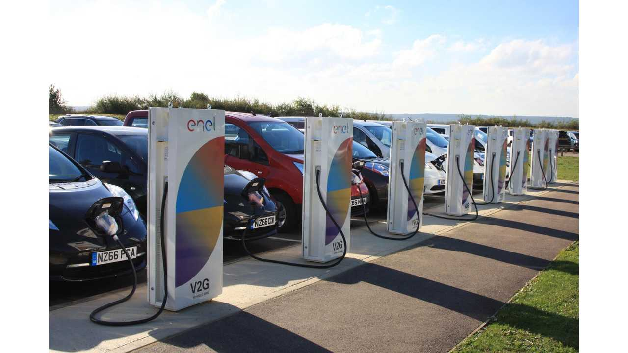 Nissan Powers Up UK-Based, European R&D Hub With V2G Technology