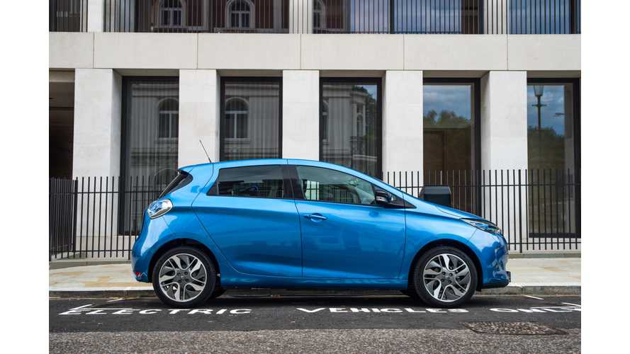 New Renault ZOE Priced In UK - Both As Outright Buy, Or With Battery Rental