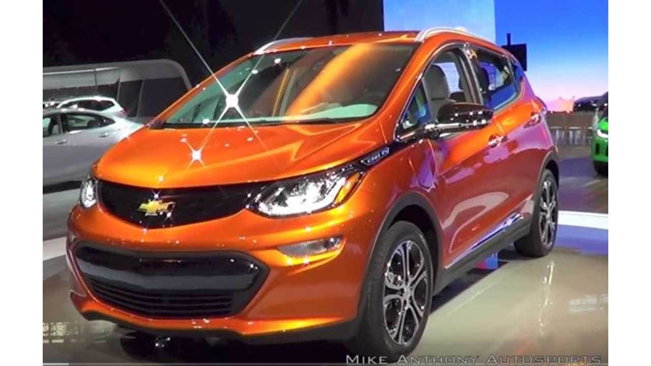 General Motors Says It Won't Seek Pre-Order For Chevrolet Bolt Despite Model 3 Success