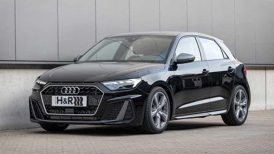 Audi A1 Sportback mit H&R-Sportfedern