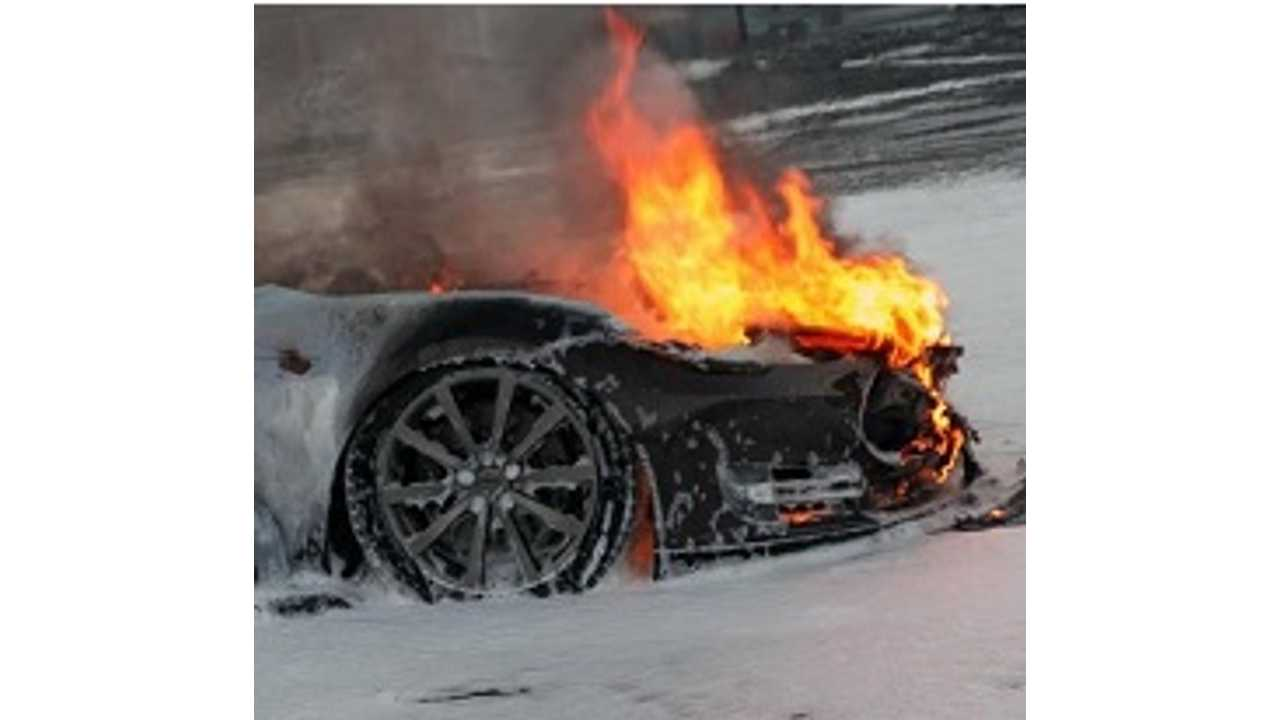Tesla To Update Model S For Safer Charging Following Supercharger Fire In Norway