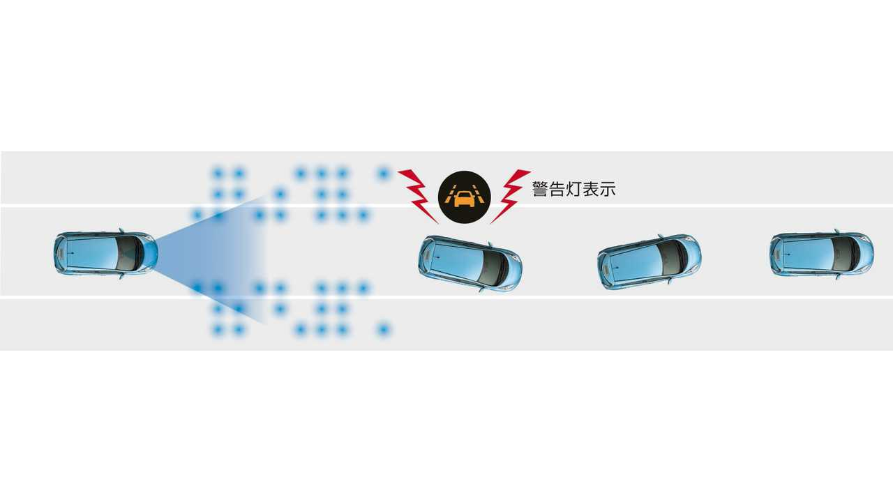 2016 Nissan LEAF (Japan) - LDW (lane departure warning)