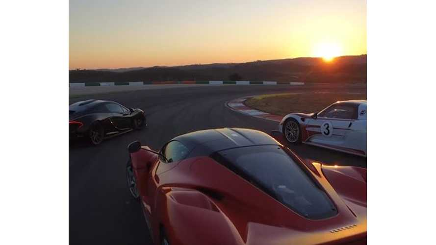 Chris Harris Tests Porsche 918 Spyder, McLaren P1 & LaFerrari - On Track Video