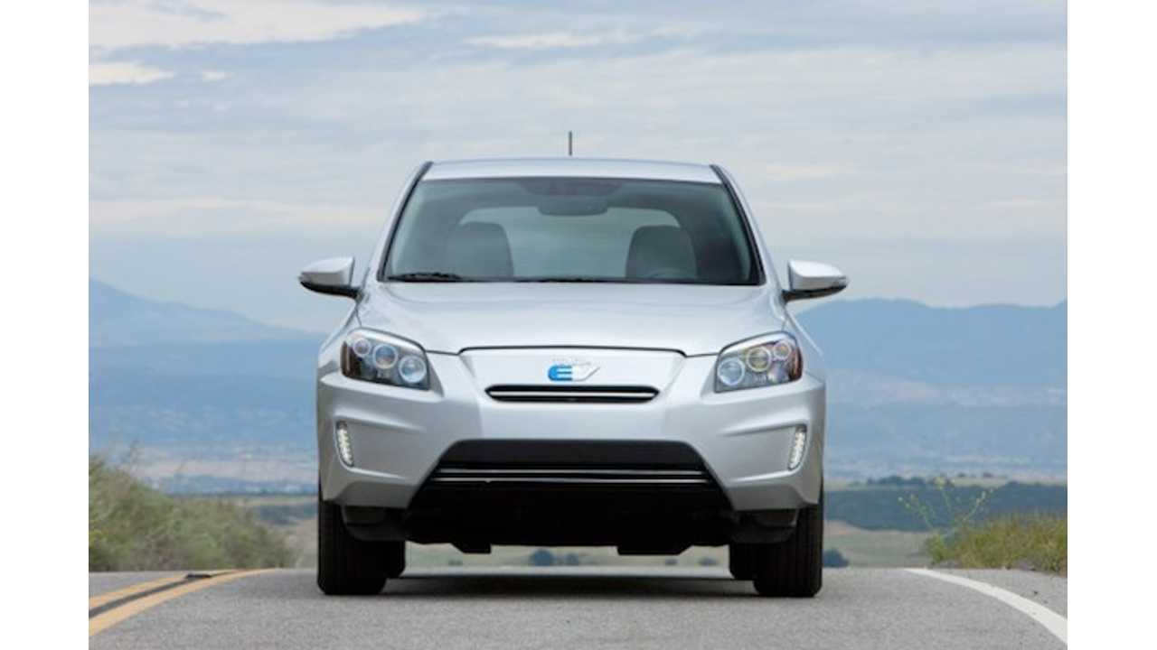 Toyota RAV4 EV Recalled Over Seatbelt Glitch