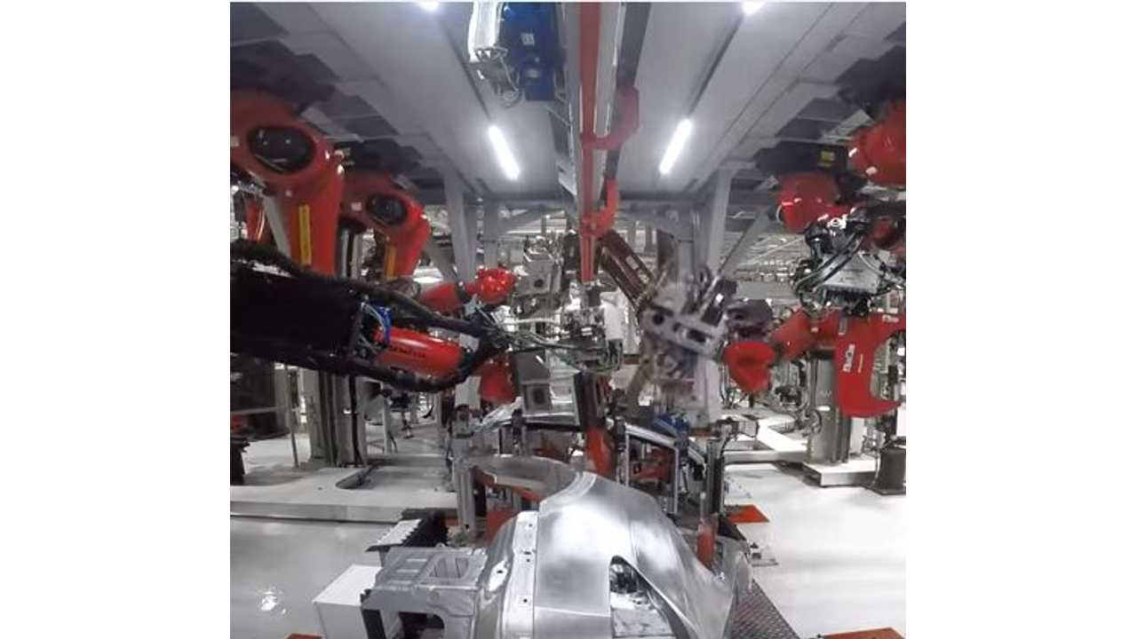 Analysts: Tesla Model X Production Ramps Up, Battery Cell Density Improves As Price Per kWh Continues To Fall