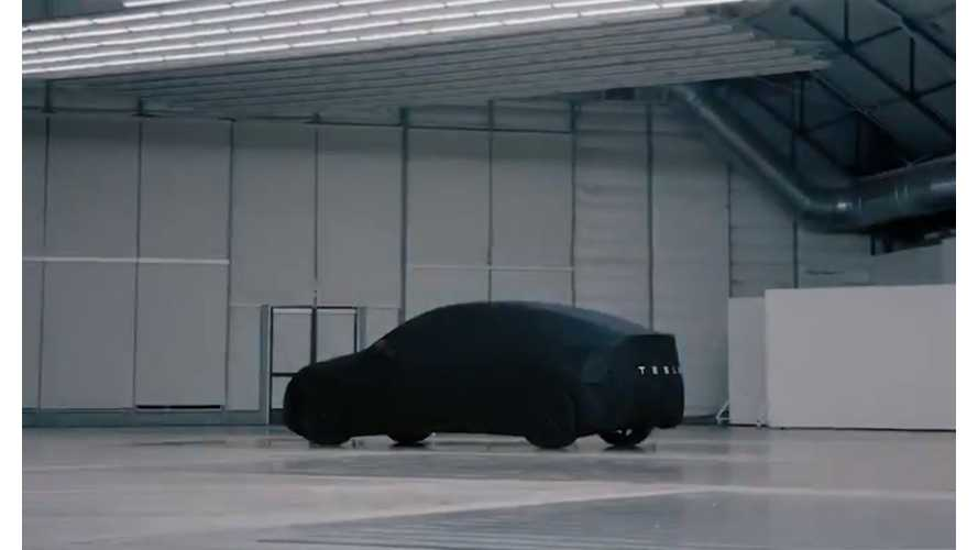 Tesla Teases Model Y Ahead Of Reveal