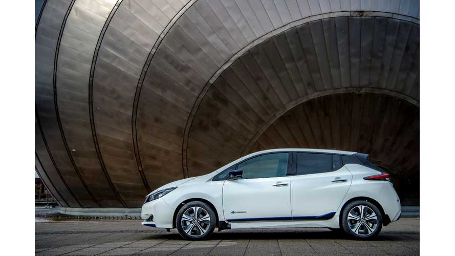 Nissan LEAF U.S. Sales Drop Down In October 2018