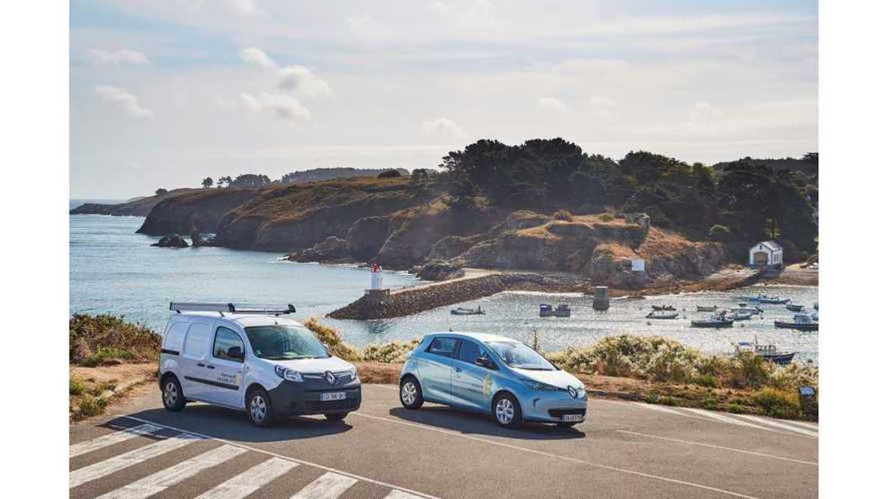 Renault unveils France's first Smart Island on Belle-Île-En-Mer