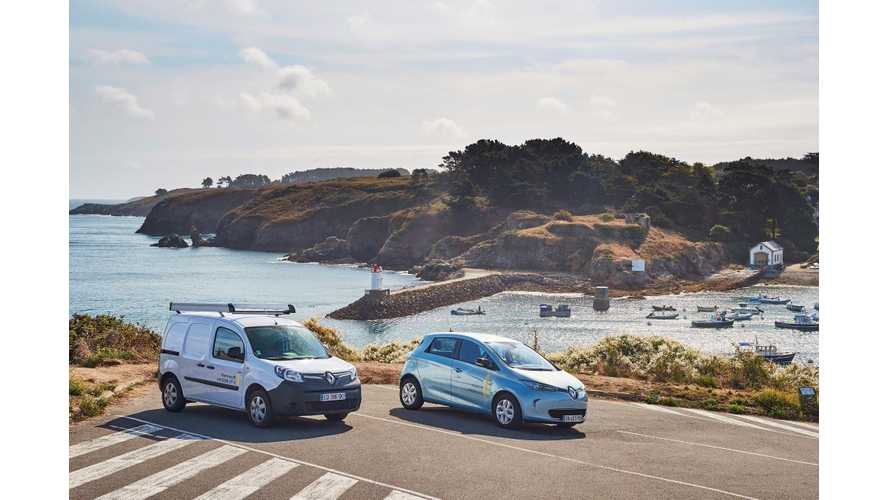 Renault Makes Belle-Île-en-Mer France's First Smart Island