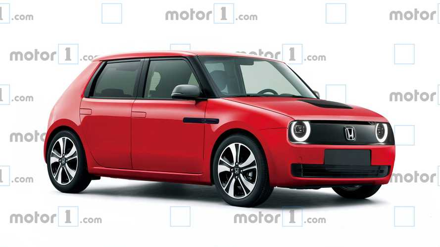 Honda Urban EV Rendered For Production