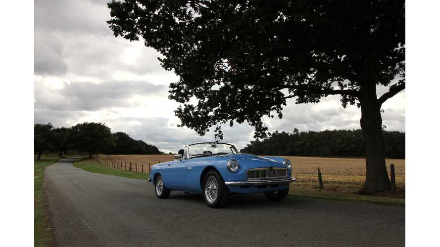 MGB Goes Electric With Help From RBW Classic Electric Cars