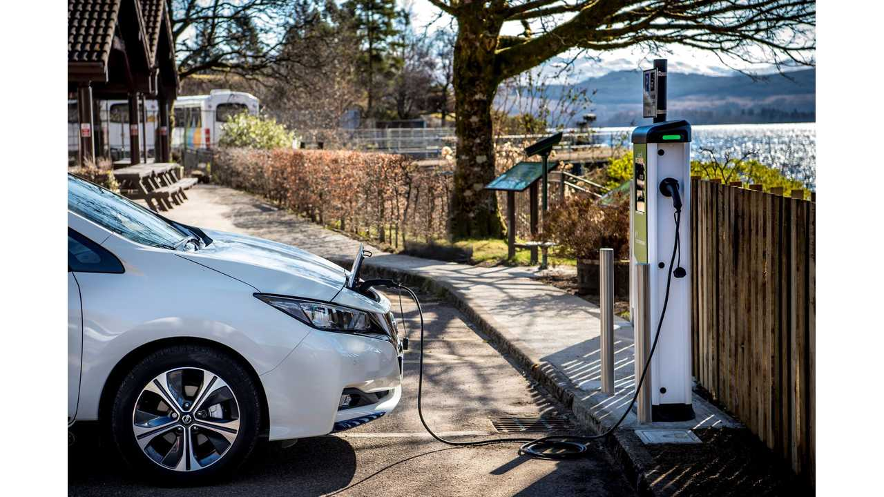 Nissan To Expand Charging Network In Spain