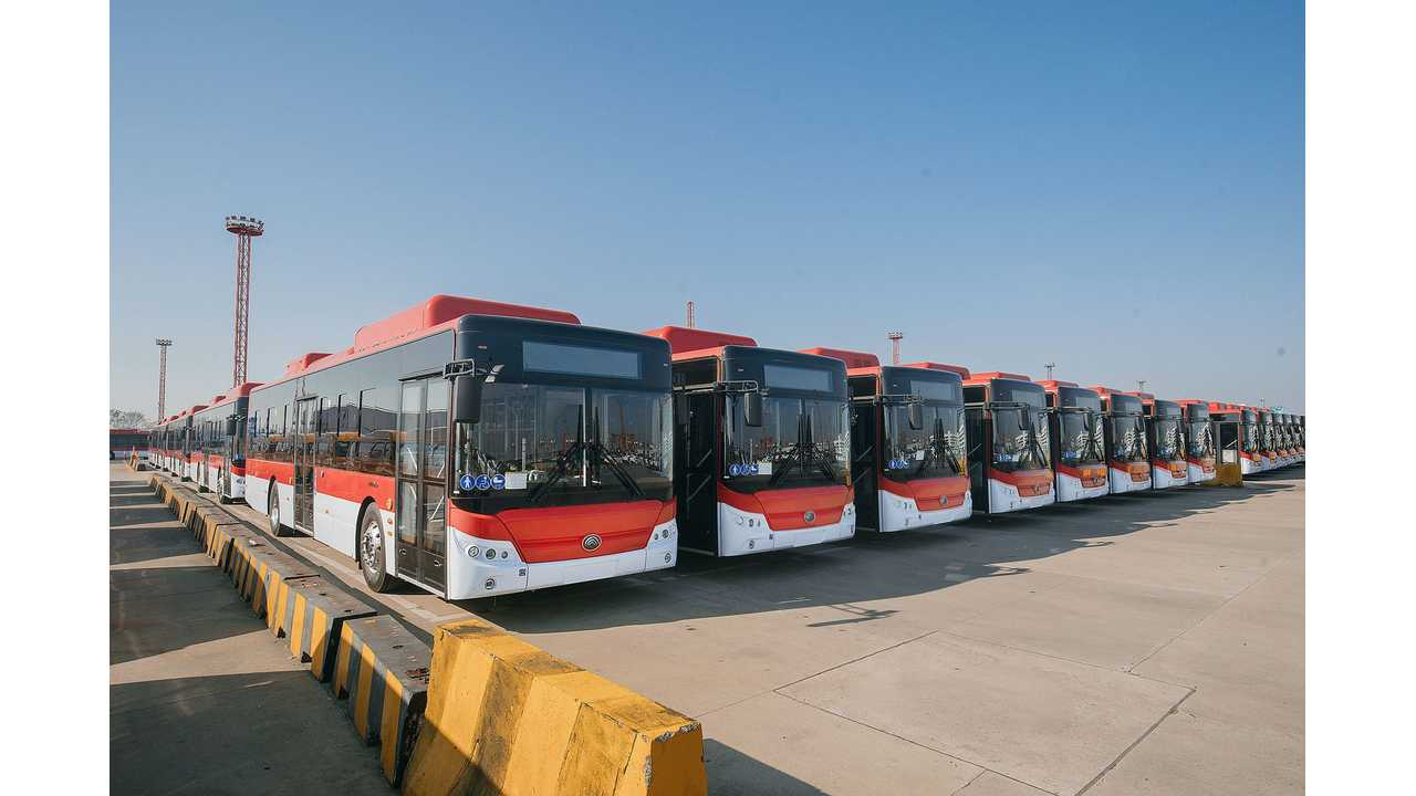 Chile Orders 100 Electric Buses From Yutong