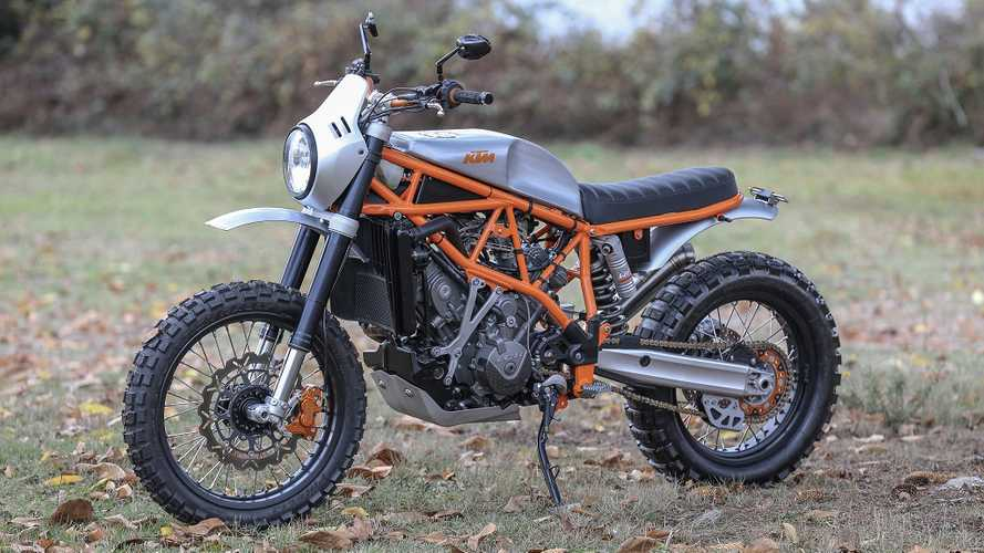 Hot Damn! This Is One Good-Looking KTM Scrambler Custom!