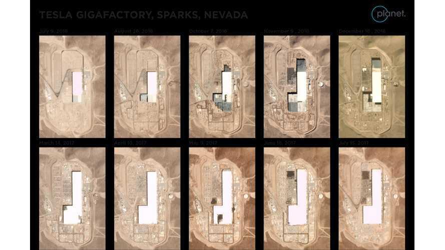 Tesla's Gigafactory Progress Video, Estimated 1,500 Model 3 Batteries Already Produced