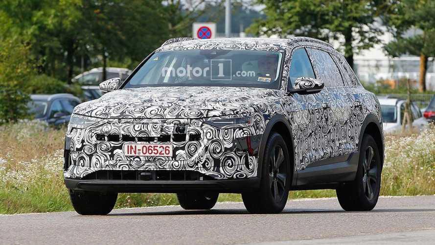 Audi E-Tron CUV Spied