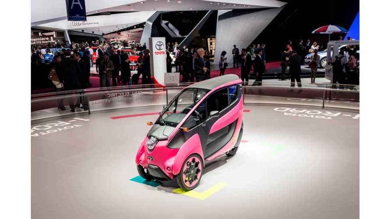 2014 Paris Motor Show: Toyota i-Road