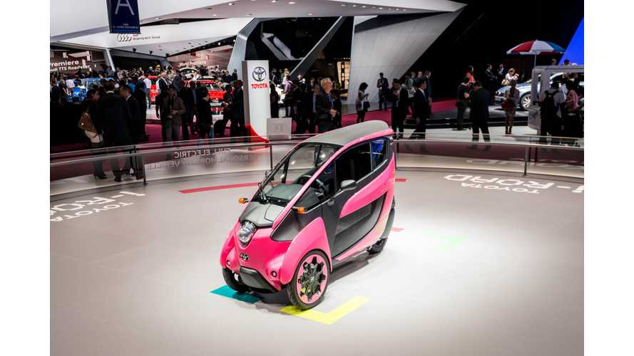2014 Paris Motor Show: Toyota i-Road