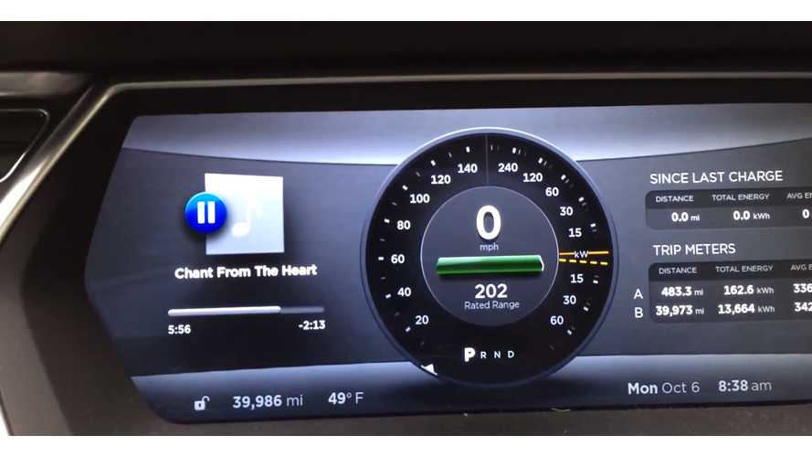 Tesla Model S 60 kWh Rated Range At 40,000 Miles - Video