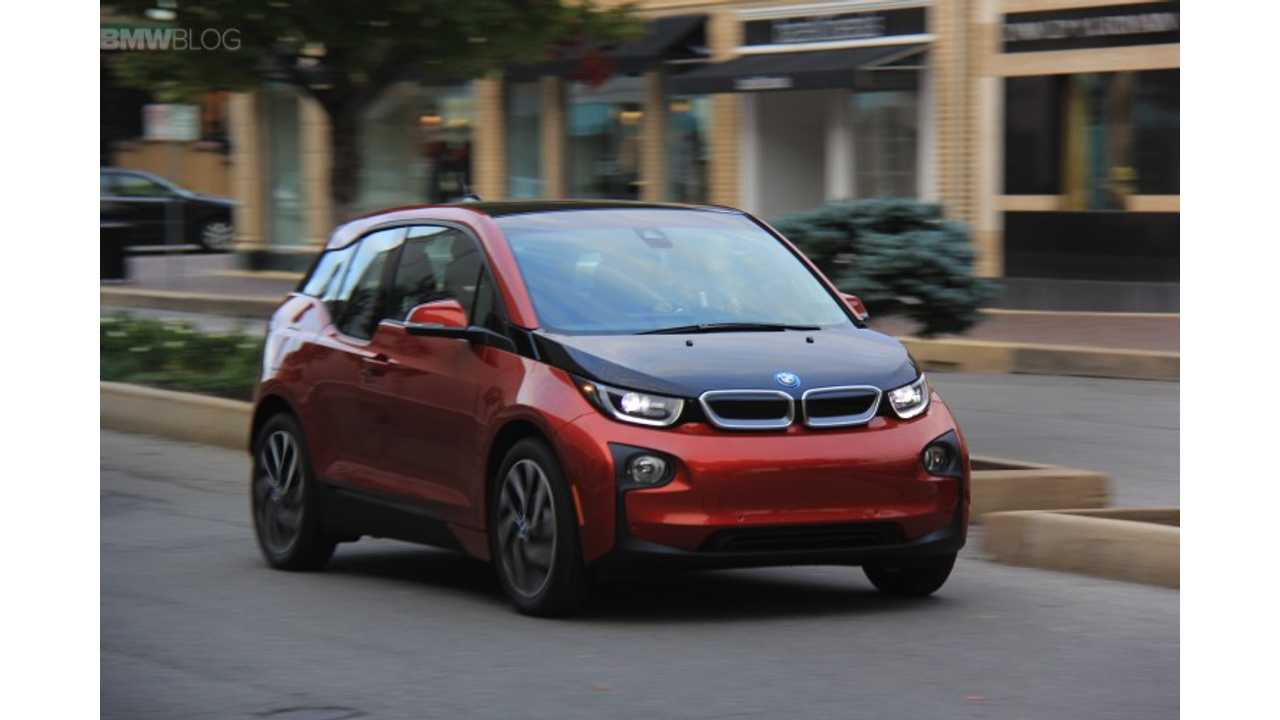 BMW i3 REx With Battery Depleted: 0 To 60 MPH In 13.7 Seconds
