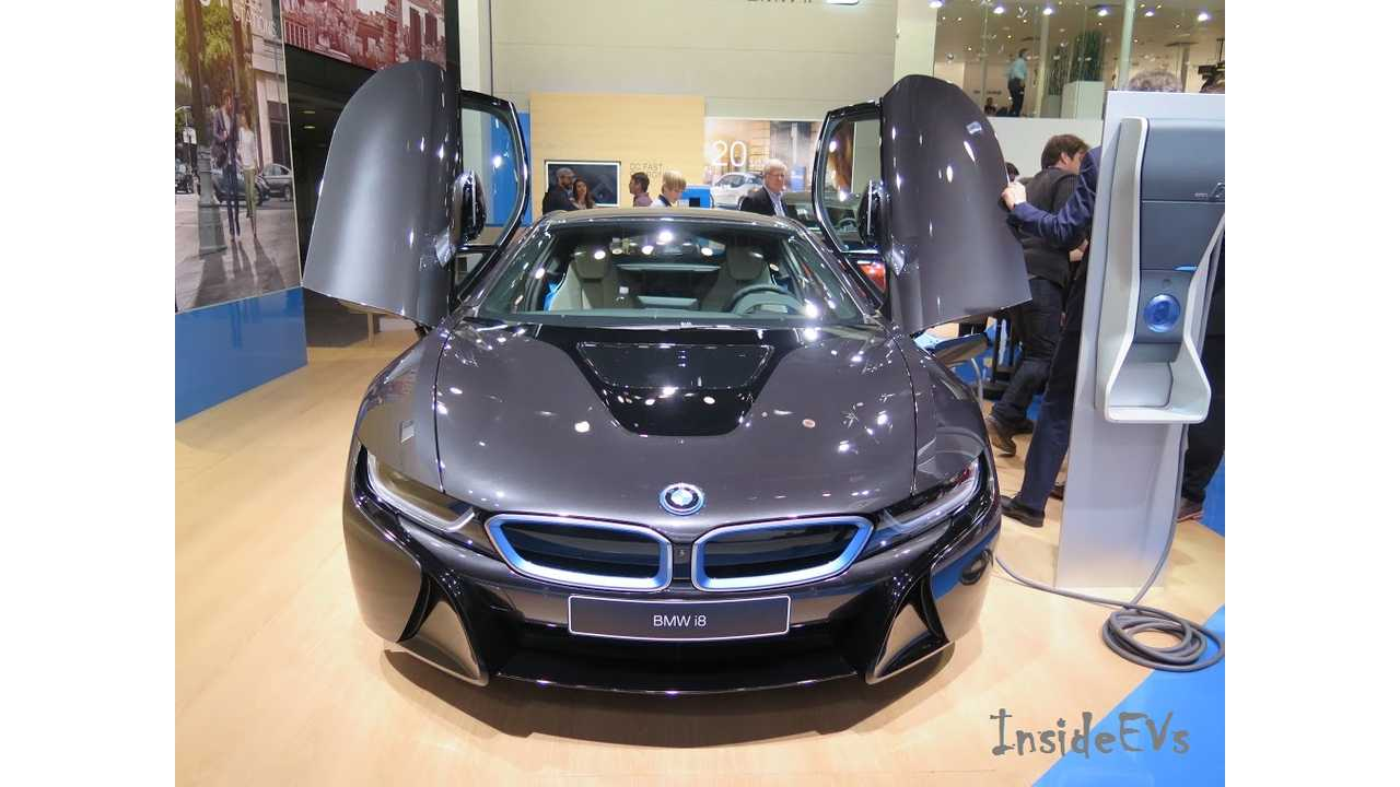 Biggest Sales Surprise Of 2014? Probably The Demand For The Ultra High-End BMW i8