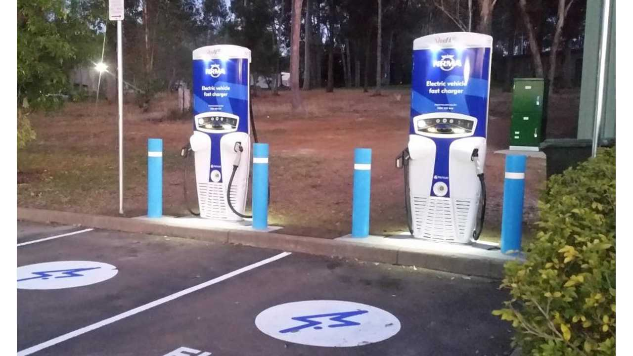 Australia: 50th Public DC Fast Charger Goes Online