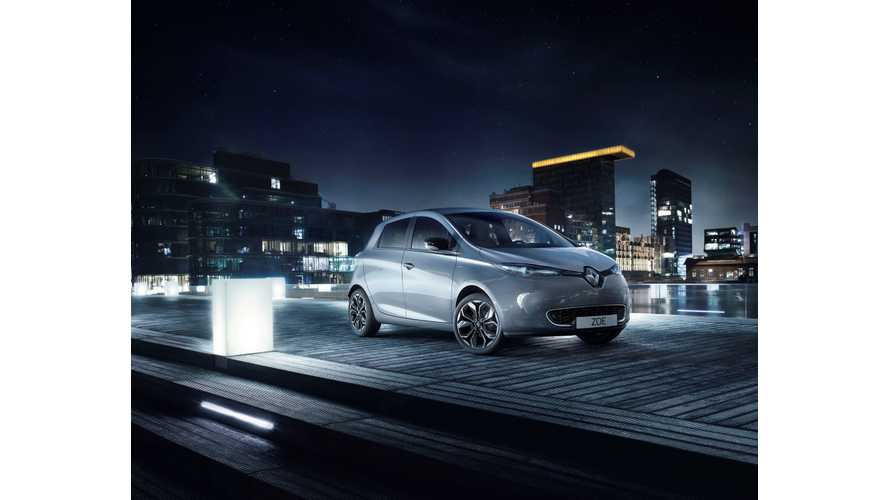 "Renault Unveils Special Edition ""Iconic"" ZOE"