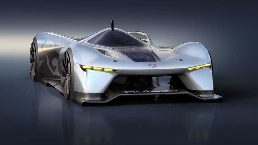 Holden Presents Stunning Time Attack Electric Concept Racer