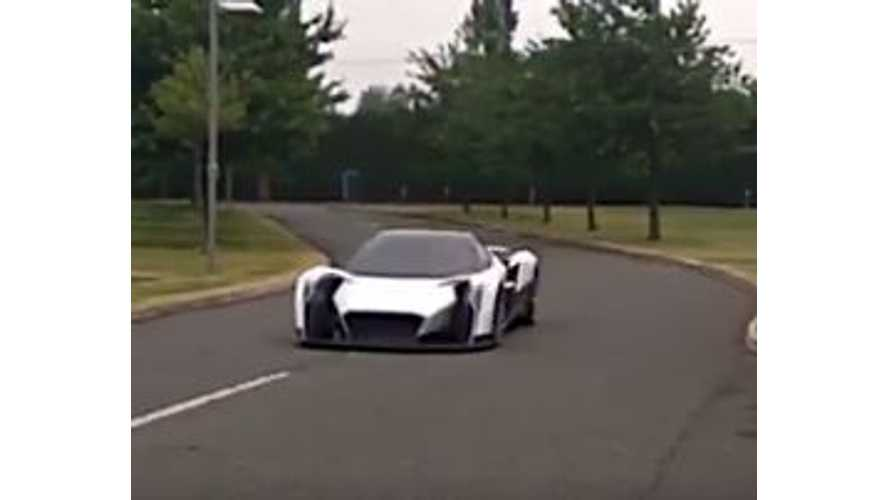 New Video Shows Vanda Dendrobrium Electric Supercar In Action