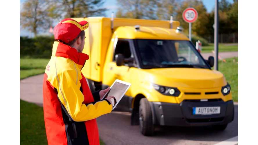 Deutsche Post to Deploy Test Fleet Of Fully Autonomous Delivery Trucks This Year